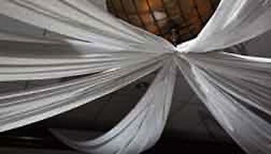 Special package Wedding ceiling backdrop drapes package 21ft /6pcs
