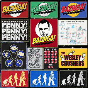 CHOOSE-from-Official-The-Big-Bang-Theory-T-shirts-Sheldon-039-s-Tee-039-s