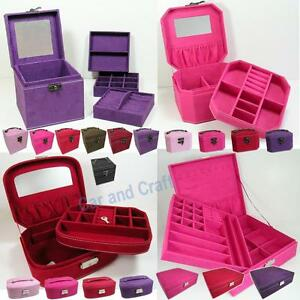 Jewelry-Storage-Organizer-Box-Case-Accessory-Ring-Necklace-Earring-Pendant-Watch