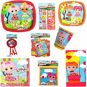 55pc-LALALOOPSY-Birthday-Party-SET-FOR-8-kids-plates-cups-napkins-favors