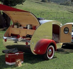Original Teardrop Trailer Camper Pop Up Plans Over