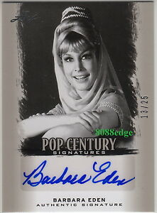 2012-LEAF-POP-CENTURY-AUTO-BARBARA-EDEN-13-25-AUTOGRAPH-034-I-DREAM-OF-JEANNIE-034
