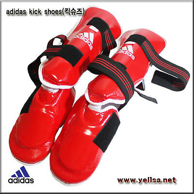 Adidas TAKEKWONDO instep & leg guard matial arts instep & Leg Foot Kick shoes