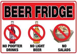 beer-fridge-sticker-290mm-x-190mm-no-P-fter-drinks-light-beer-salads