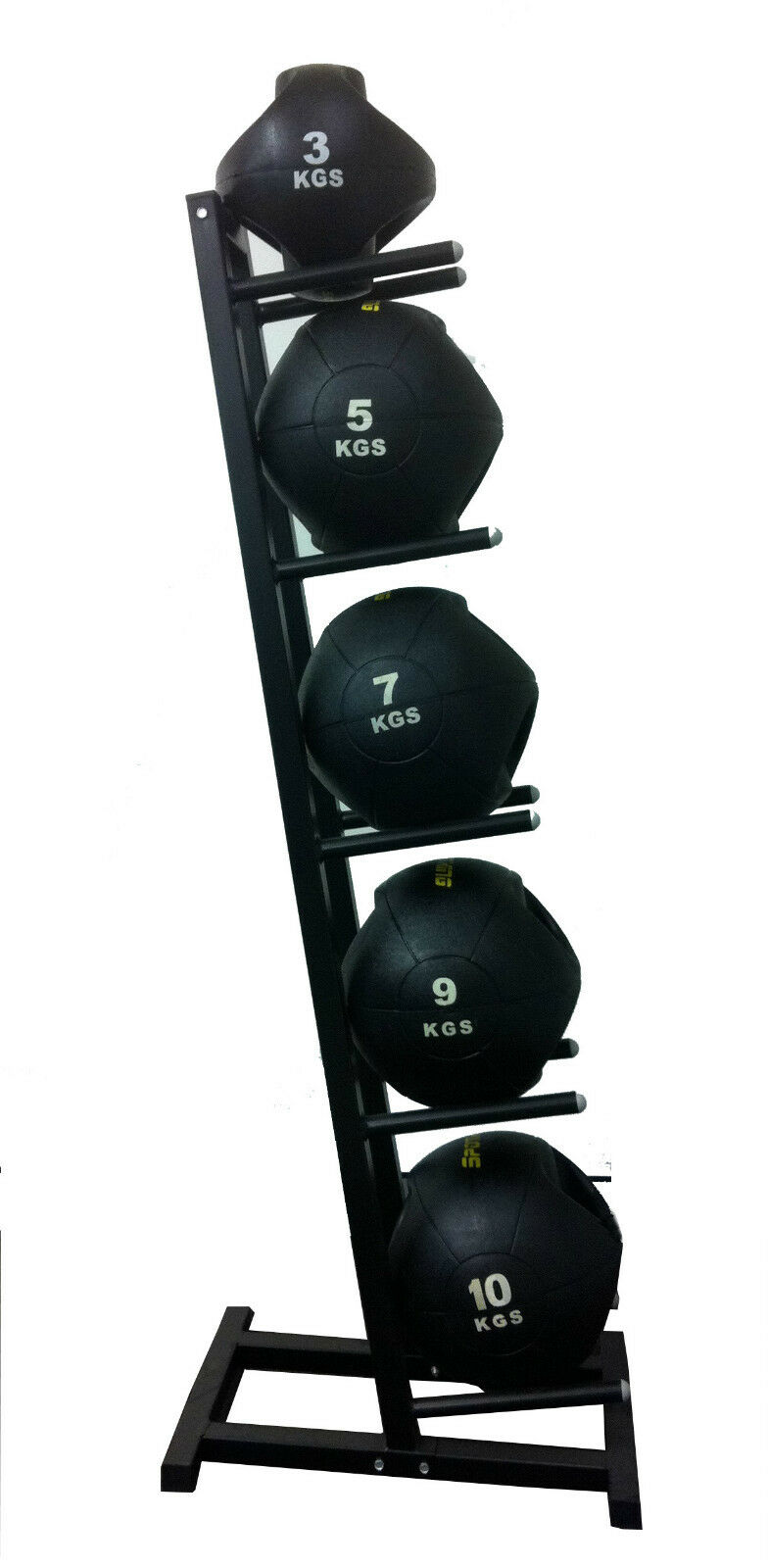 Double-handle Rubber Medicine Ball 3, 5,7,9,10kg Package ...