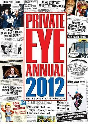 """""""AS NEW"""" Ian Hislop, Private Eye Annual 2012 (Annuals), Hardcover Book"""