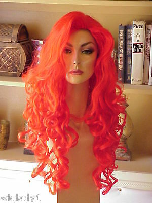 WOW EMPRESS VEGAS GIRL BIG LONG RINGLETS FUN THAT SUPER PARTY WIG