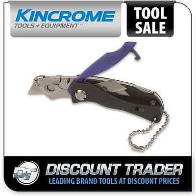 Kincrome Mini Folding Lock Back Knife 100mm - K060065