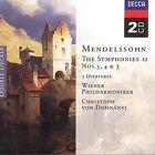 Felix Mendelssohn - Mendelssohn: The Symphonies, Vol.2 (1999)