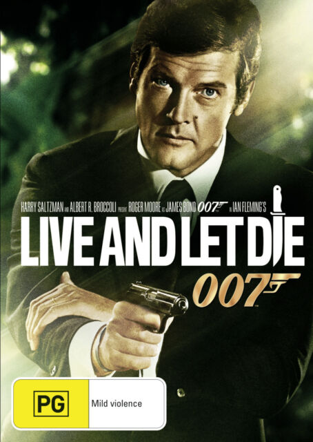 Live And Let Die - Special Edition (DVD, 2000) Roger Moore, Jane Seymour
