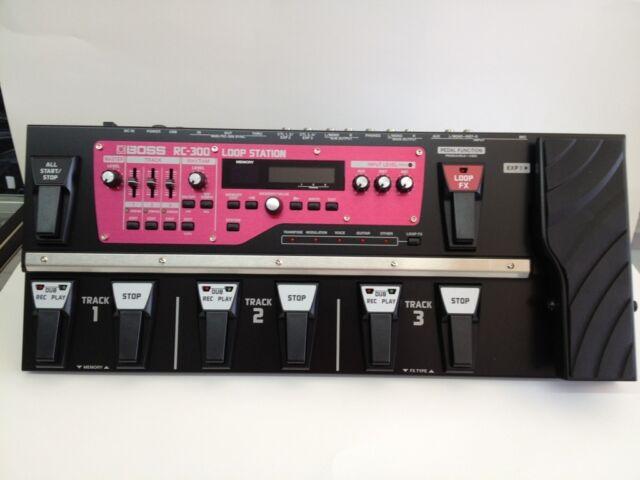 boss rc300 looper guitar effect pedal for sale online ebay. Black Bedroom Furniture Sets. Home Design Ideas