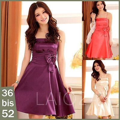 Cocktailkleid Abendkleid Partykleid Ballkleid 3 Farben auch in XL XXL XXXL
