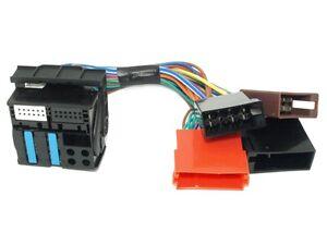 AUDI-A3-A4-A6-TT-ALLROAD-RNS-E-P-amp-P-Adapter-QUADLOCK-ISO-FAKRA-CHORUS-CONCERT