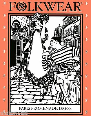 Folkwear Retro 1918-20 Paris Promenade Dress & Handbag Sewing Pattern # 261