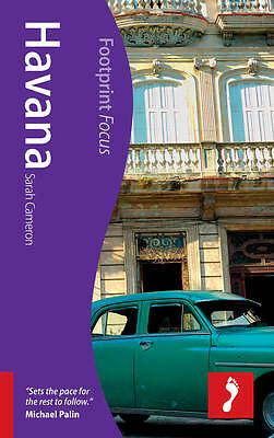 Havana Footprint Focus Guide by Sarah Cameron (Paperback, 2011)