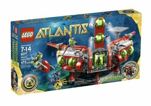 Lego Lego Lego 8077 Exploration HQ ATLANTIS TRANSFORMER EXPLORATION 5aac1c