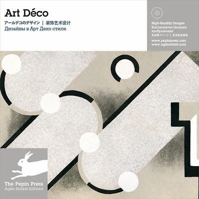 Art Deco Design Clip Art Book CD-ROM Style Design New Book Japan Sealed Book