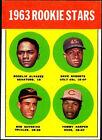 1963 Topps Rookie Stars 158 Baseball Card