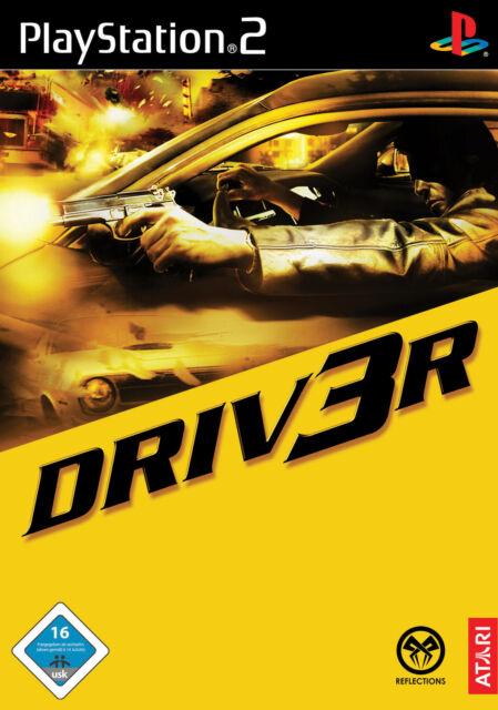 Driv3r (Sony PlayStation 2, 2004, DVD-Box) Driver 3