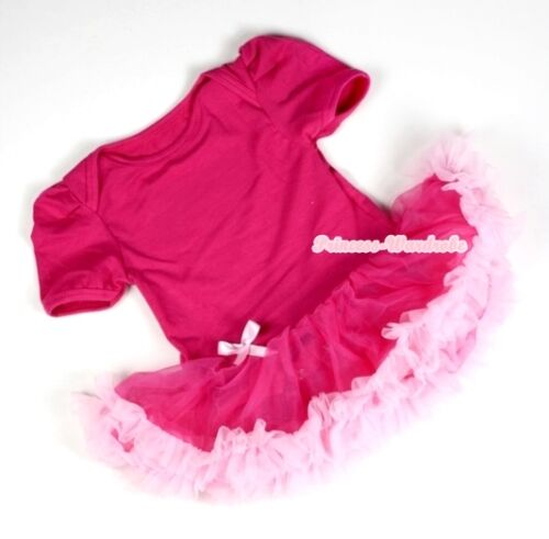 Multi-List Infant Baby Dress Romper Pettiskirt Jumpsuit wif Headband Bow NB-12M