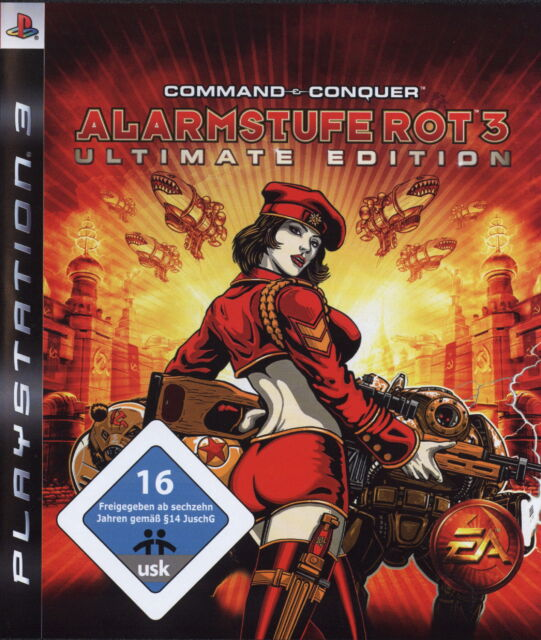 Command & Conquer: Alarmstufe Rot 3 -- Ultimate Edition (Sony PlayStation 3, 200