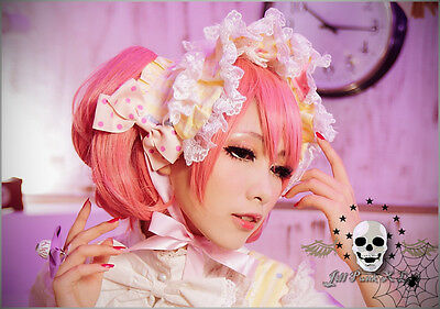 Lolita visual Cartoon fantasy cosplay Toy paradise Parade Dolly baby Bonnet Hat