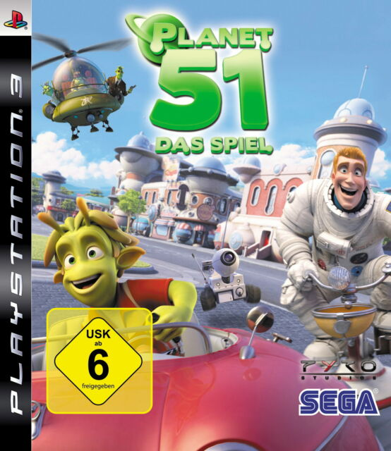 Planet 51 (Sony PlayStation 3, 2009)