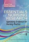 Essentials of Nursing Research: Appraising Evidence for Nursing Practice by Denise F Polit (Paperback / softback, 2013)