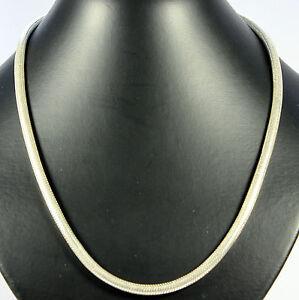 Schlangenkette-Echt-925-Silber-3-5-mm-Silber-kette-Edelstein-Schmuck-ca-45cm-Top