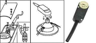 1-100x GU10 Anschlusskasten Fassung / Sockel LED Einbaustrahler Einbauleuchte