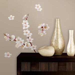 Image Is Loading 26 DOGWOOD FLOWERS WALL DECALS White Flowers Stickers