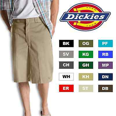 "Dickies Mens 13"" SHORTS Uniform School Work All Colors Phone Pocket Style 42283"