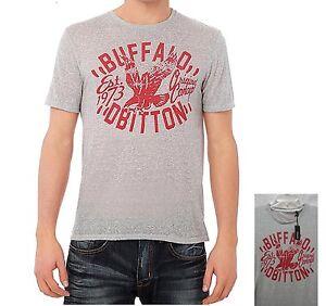 Buffalo-by-David-Bitton-Mens-BM13667-N-AMEN-Crane-Graphic-Tee-M-L-XXL-NEW