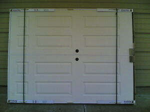 Brand new double pre hung hollow core 6 panel interior doors 60 w x 80 h ebay for Double hung interior closet doors