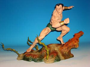 Sideshow-NAMOR-Sub-Mariner-Comiquette-Polystone-Statue-Rare-Marvel-Sample