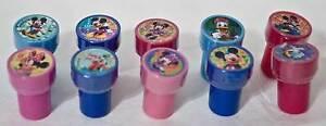 Disney-Mickey-Minnie-Daisy-Goofy-Donald-10-Stamps-Party-Favors