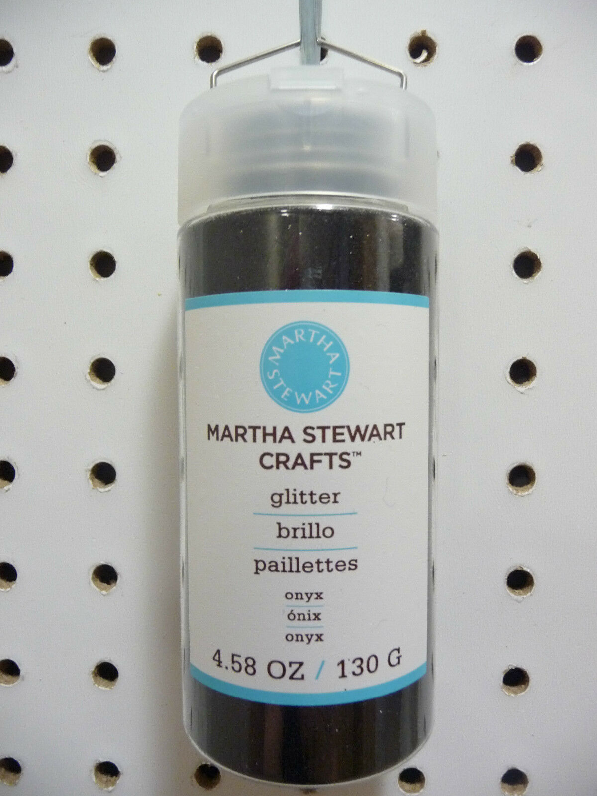 MARTHA STEWART CRAFTS BROWNSTONE GLITTER 1.5 OZ NEW A7181