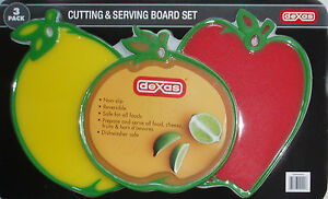3-Pack-Dexas-Cutting-amp-Serving-Board-Set-Cutting-Board-for-all-food-brand-NEW
