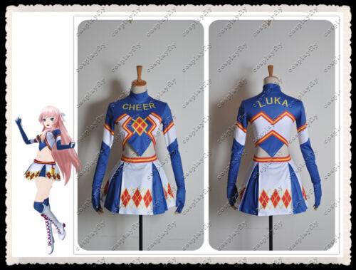 Vocaloid Hatsune Miku Project DIVA F Megurine Luka Cheerleaders  Spors Wear