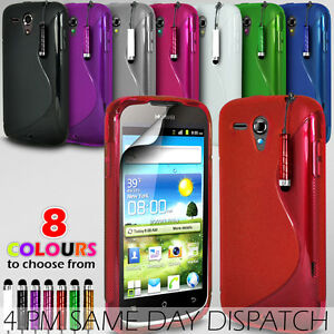 S-LINE-WAVE-GEL-SKIN-CASE-COVER-MINI-STYLUS-PEN-FOR-HUAWEI-ASCEND-G300
