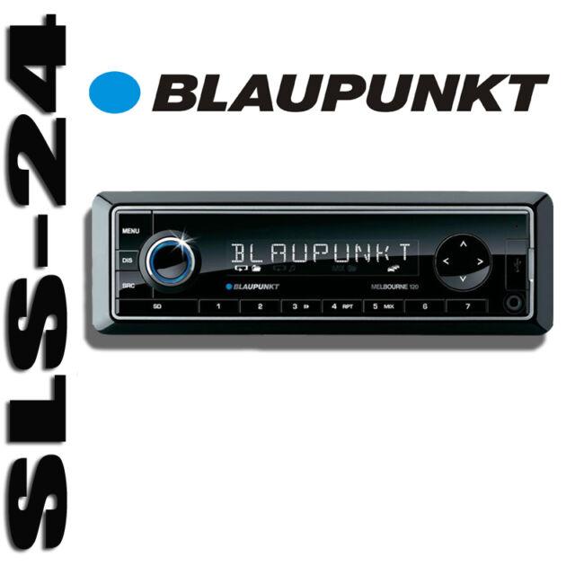 Blaupunkt MELBOURNE 120 RADIO USB SD Karten Slot Autoradio KFZ RDS TUNER AUX-IN