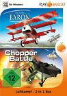 Luftkampf - 2 in 1 Box (The Flying Baron / Chopper Battle) (PC, 2010, DVD-Box)