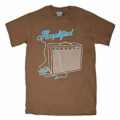 GUITAR AMP AMPLIFIER AMPLIFIED RETRO INDIE ROCK STYLE T SHIRT ALL SIZES & COLS