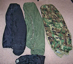 VGC-USMC-US-Military-4-Piece-Modular-Sleeping-Bag-Sleep-System-GORTEX-Bivy