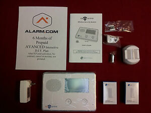 2gig Home Security Alarm No Contract Self Monitoring