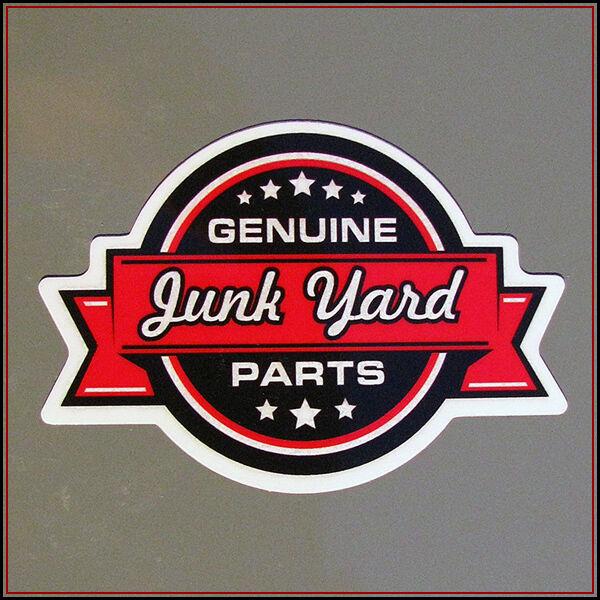 Genuine Junk Yard Parts sticker decal vinyl stolen scrap rat car bike window bmx