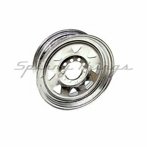Wheel-Rim-13-034-Ford-HT-MULTI-FIT-Galvanised-Box-Boat-Camper-Trailer-Part