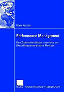 Performance Management: Eine Stakeholder-Nutzen-orientierte und Geschäft ... '