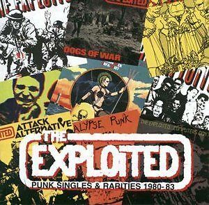 THE EXPLOITED - Punk Singles and Rarities, 1980-1983 CD (still sealed)