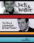 Jack & Walter: The Films of Lemmon & Matthau by Ben Costello (Hardback, 2009)